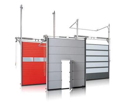 Bramy segmentowe przemysłowe - Industrial sectional doors